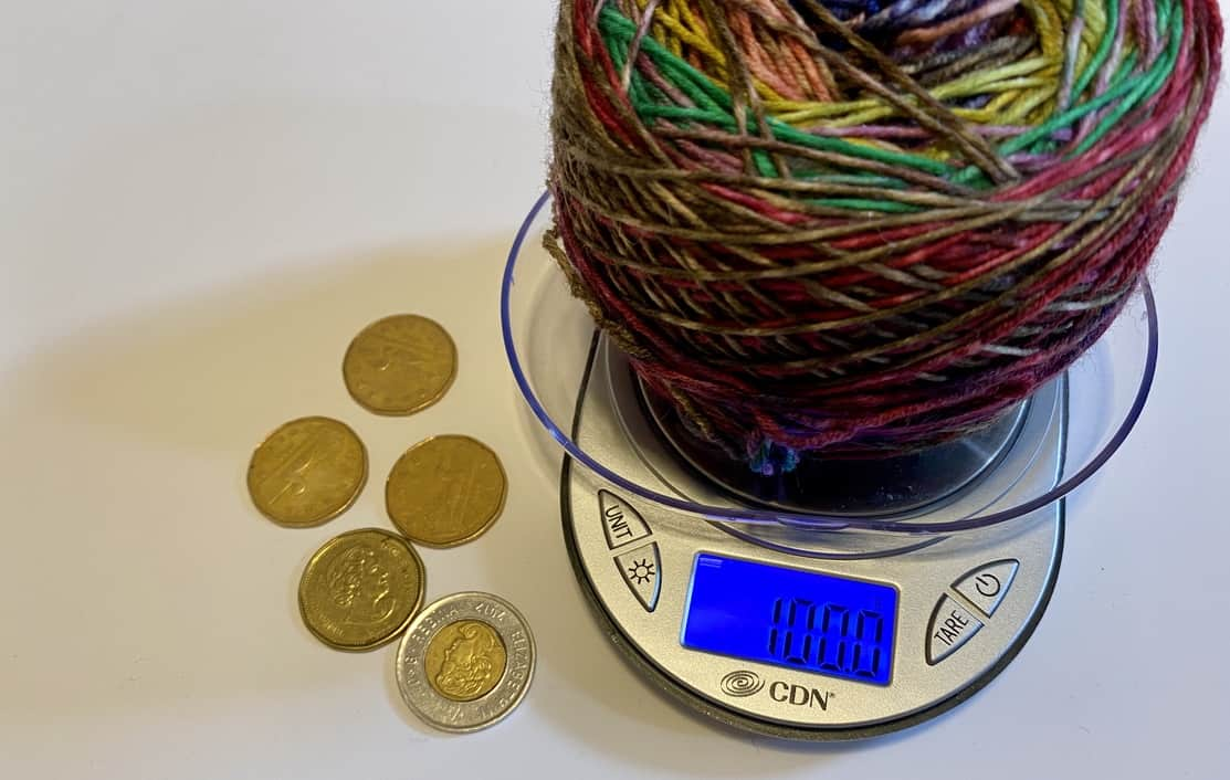 Favourite Tools: Yarn Scale
