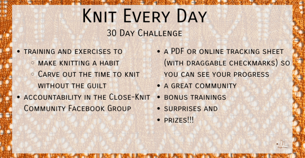 Knit Every Day Challenge