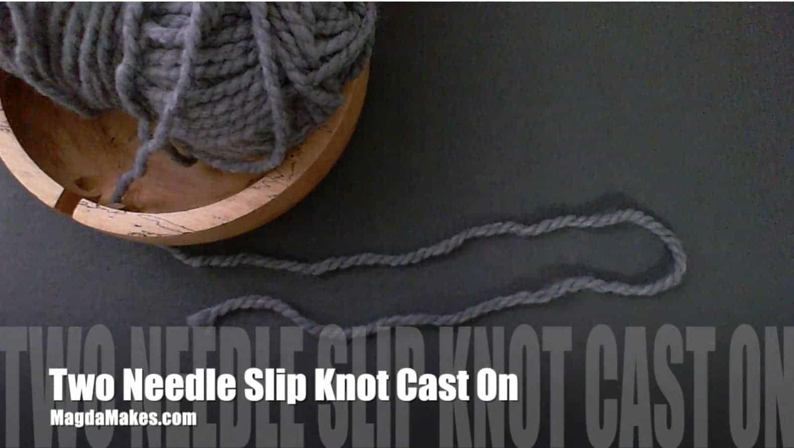 Beautiful Beginnings! An Easy, Super-Stretchy Cast On