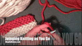 Joining Knitting As You Go