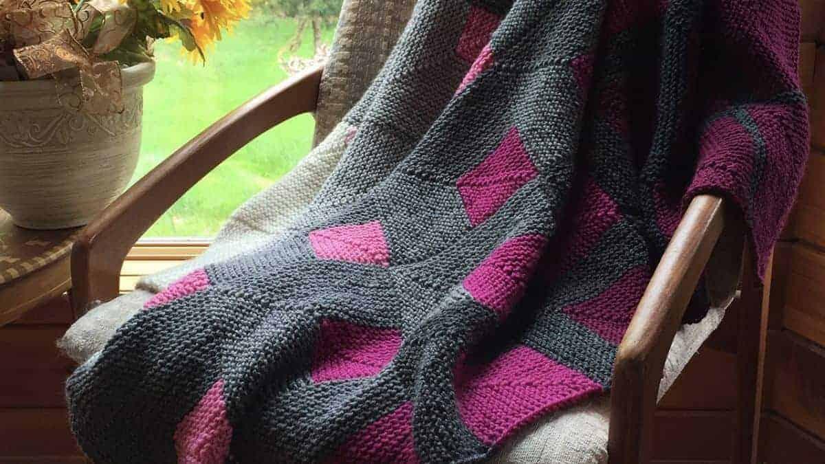Mod Squares Blanket