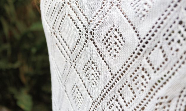 The Perfect Yarn for This Gorgeous Lace Shawl
